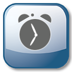 Alarm clock app icon